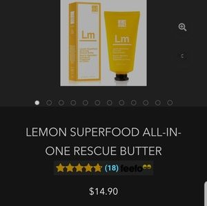 NWT Lemon Superfood Rescue Butter